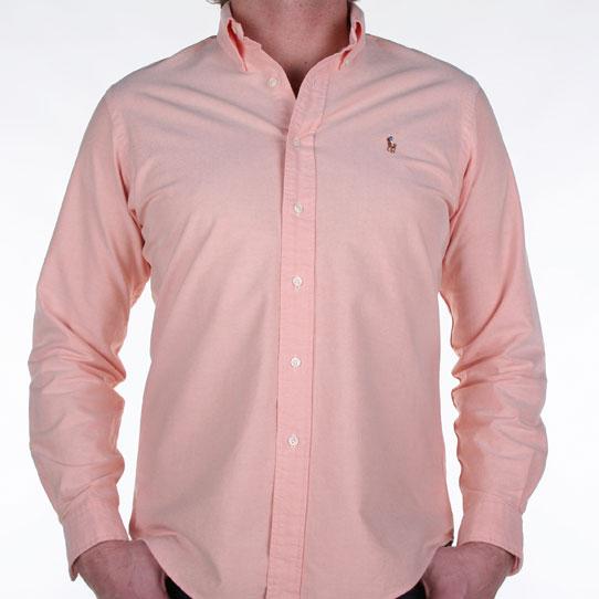 Ralph Lauren Pink Oxford Shirt Ralph Lauren Polo Button Shirt
